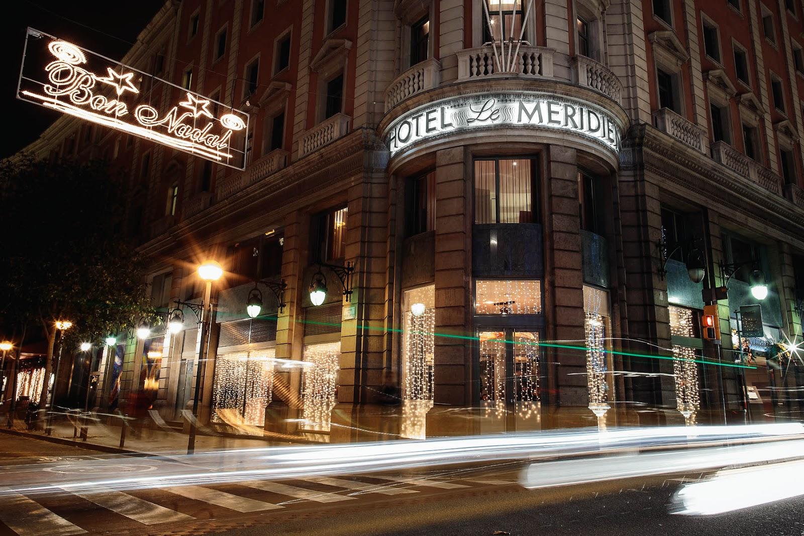 Le Meridien restaurante Barcelona Menu Navidad 2015