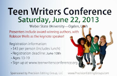 We are a proud Sponsor of the Teen Writers Conference!