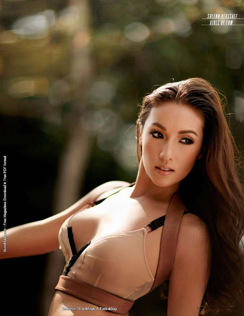 Year Calendar With Notes : Solenn heussaff sexy bikini pose for ginebra san miguel
