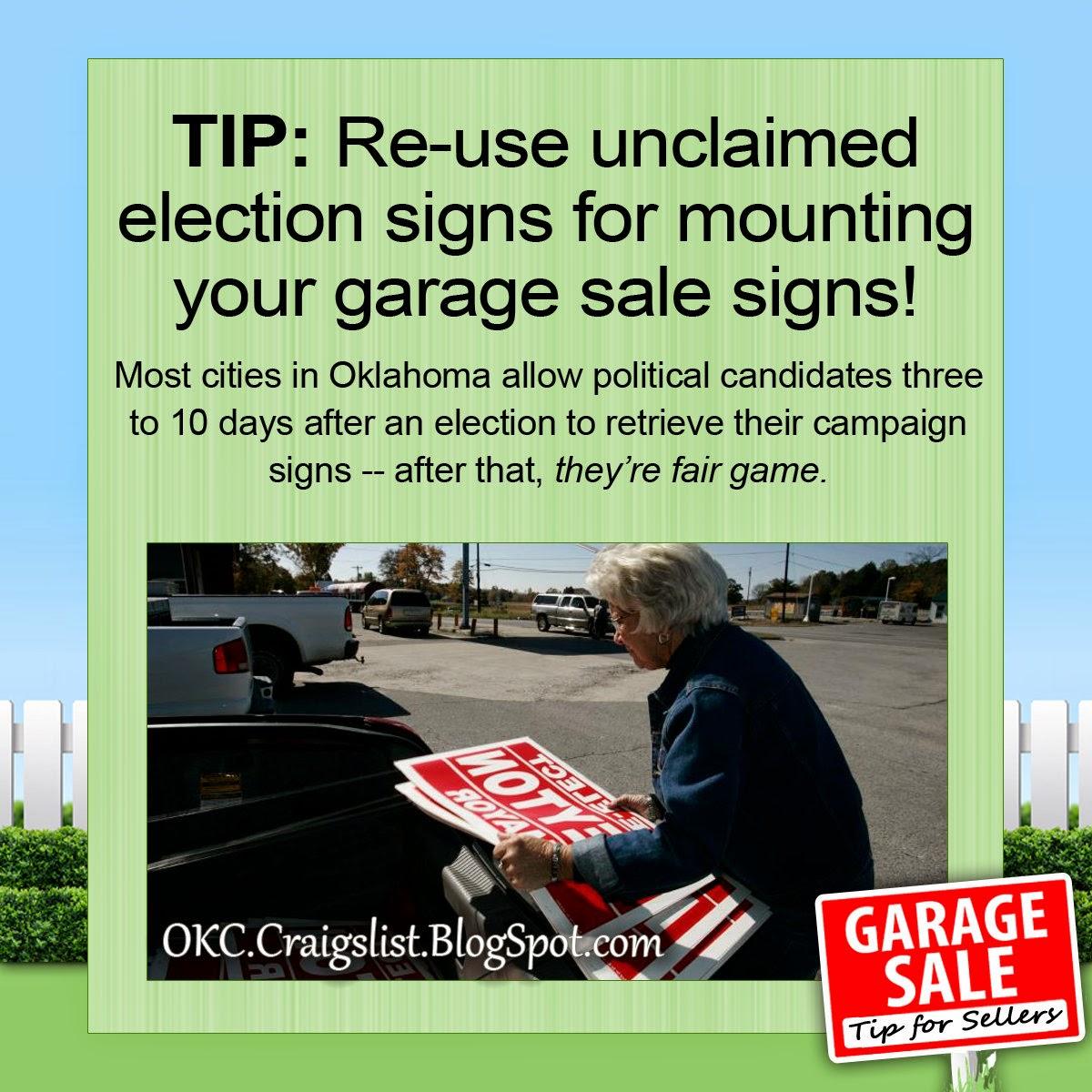 Oklahoma City Craigslist Garage Sales