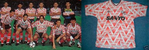 Camisetas de fútbol estrambóticas