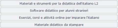 MATERIALE DIDATTICO ONLINE GRATUITO PER STRANIERI PER IMPARARE LA LINGUA ITALIANA