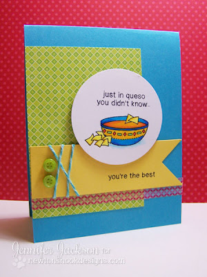 Card using Just Say Cheese Stamp set by Newton's Nook Designs