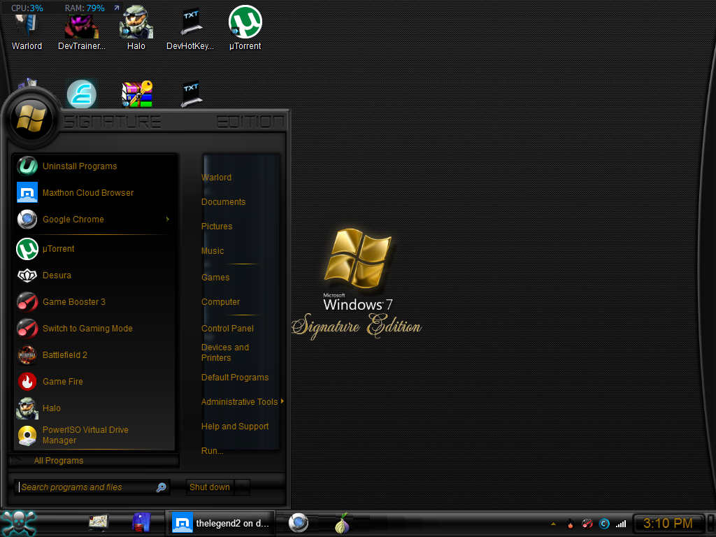 Download signature edition reloaded themes visual style for Floor 6 reloaded menu