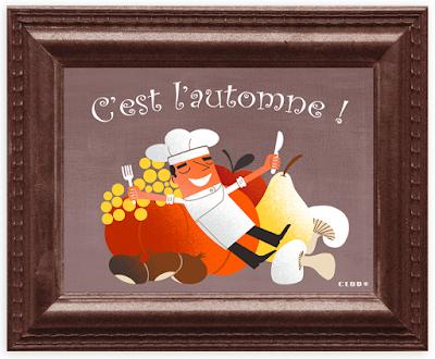 Clod illustration automne