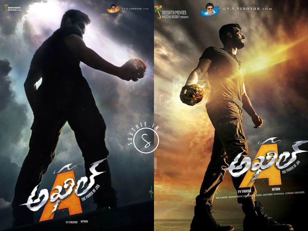 Akhil Akkineni in his debut movie Akhil first look.