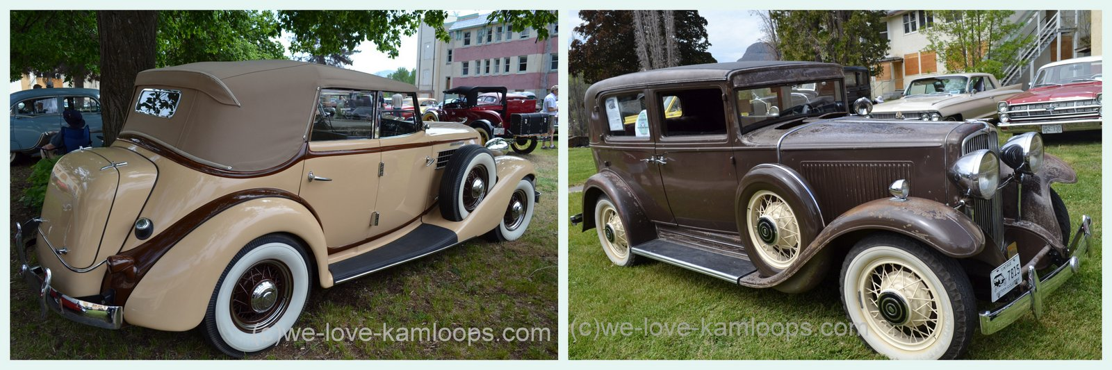 we-love-kamloops: Vintage Cars ~ Tranquille on the Lake ~ Kamloops, BC