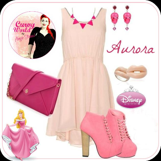 Curvy World Disney Princess Outfits