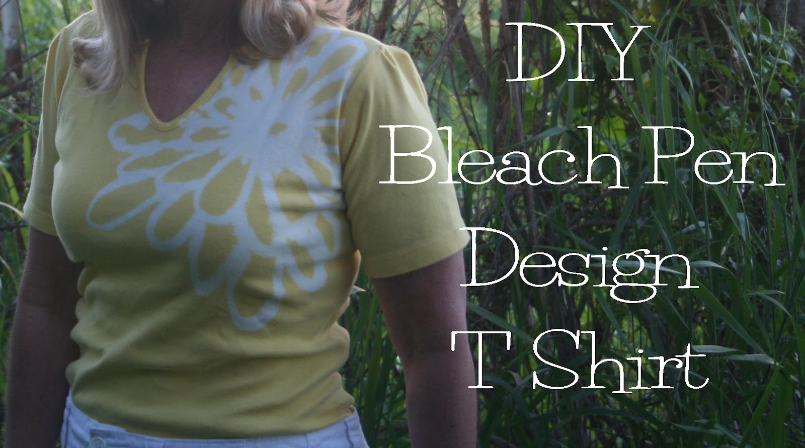 Refashion co op diy bleach pen t shirt refashion for Diy t shirt design