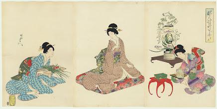 Toyohara Chikanobu (1838 - 1912)