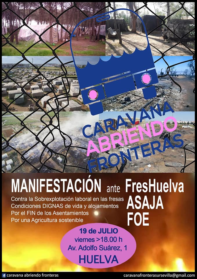 CARAVANA ABRIENDO FRONTERAS EN HUELVA