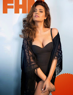 Esha Gupta looks cute for FHM Magazine Picture Gallery