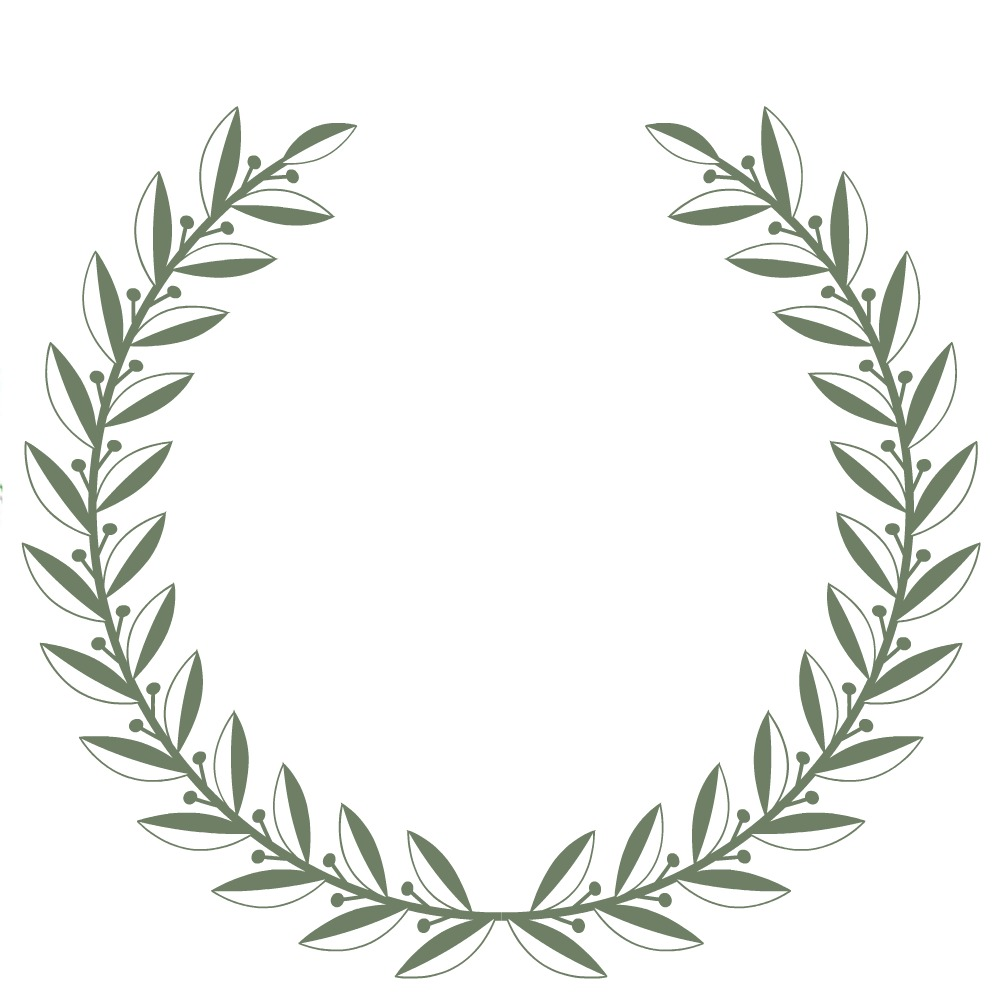 Amanda rapp design free printable laurel wreath how to for Laurel leaf crown template