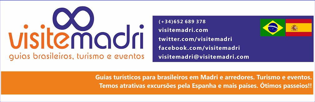 Visite Madri: guias brasileiros, turismo e eventos