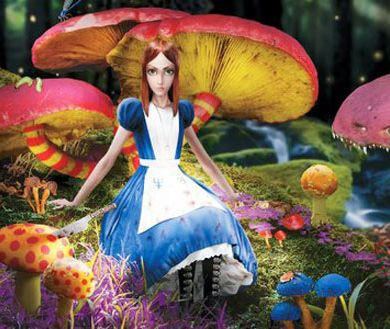 Mushrooms in Wonderland