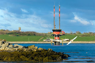 Marine Current Turbines' commercial-scale demonstration project with SeaGen in Strangford Lough in Northern Ireland