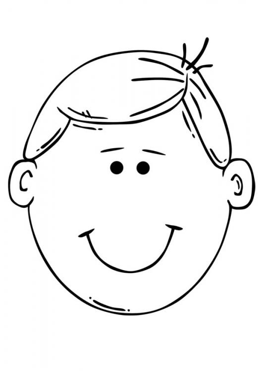 Caras para pintar de un niño triste - Imagui