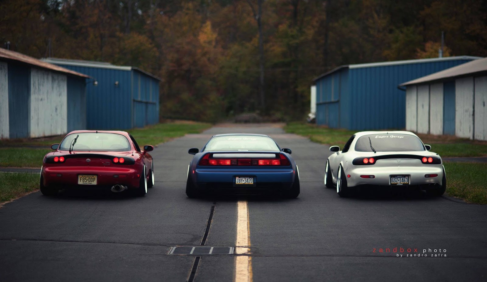 Mazda RX-7 FD & Honda NSX , kultowe sportowe samochody
