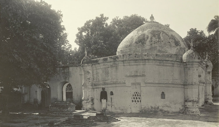 The Tomb of Shah Bahram - Burdwan (Bardhaman), Bengal, 1904