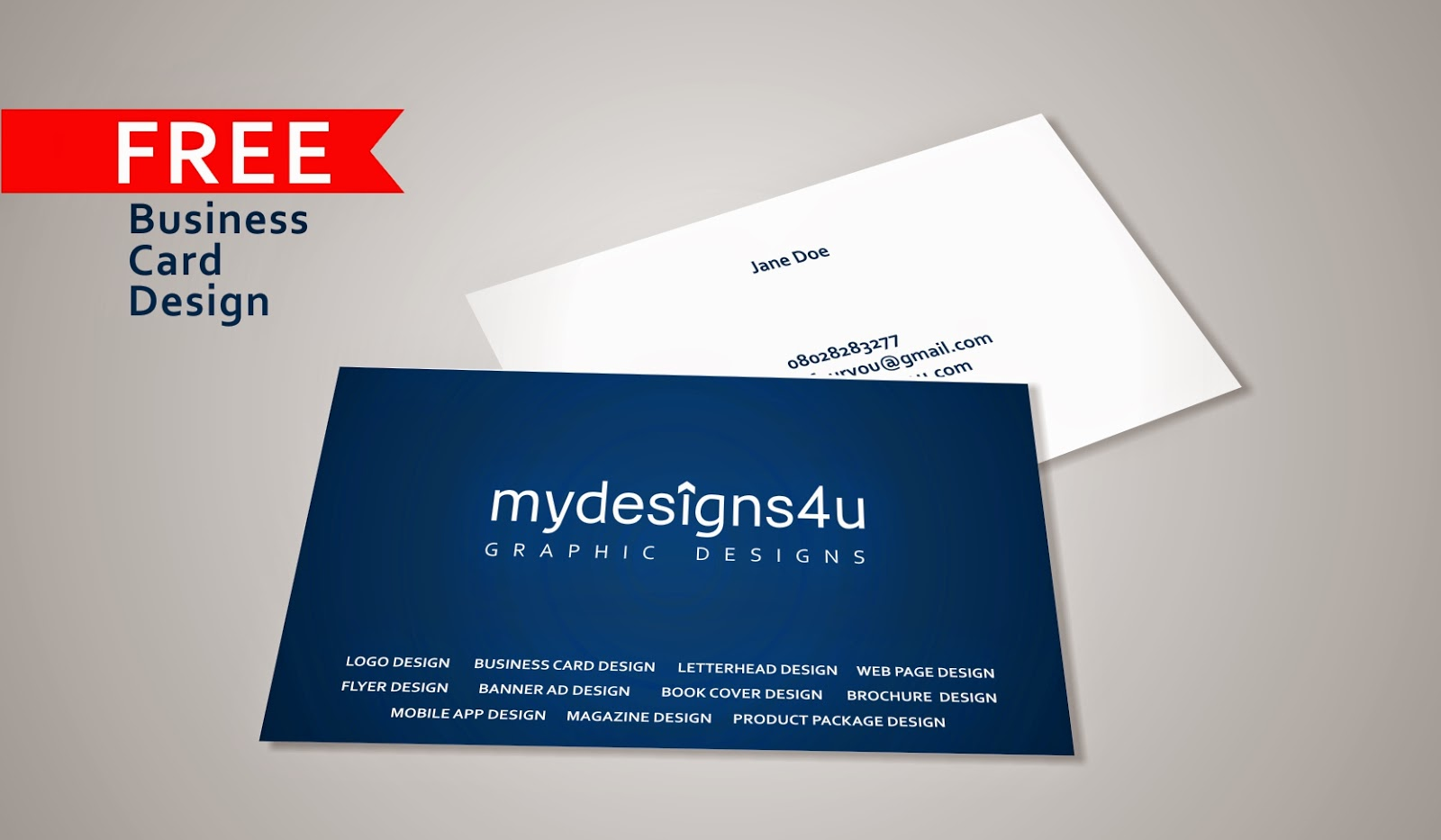 Free business card design a graphic design blog we all like free stuffid be designing business cards for anyone starting a business or whoever needs it send me an email at mydesignsfouryougmail or reheart Gallery