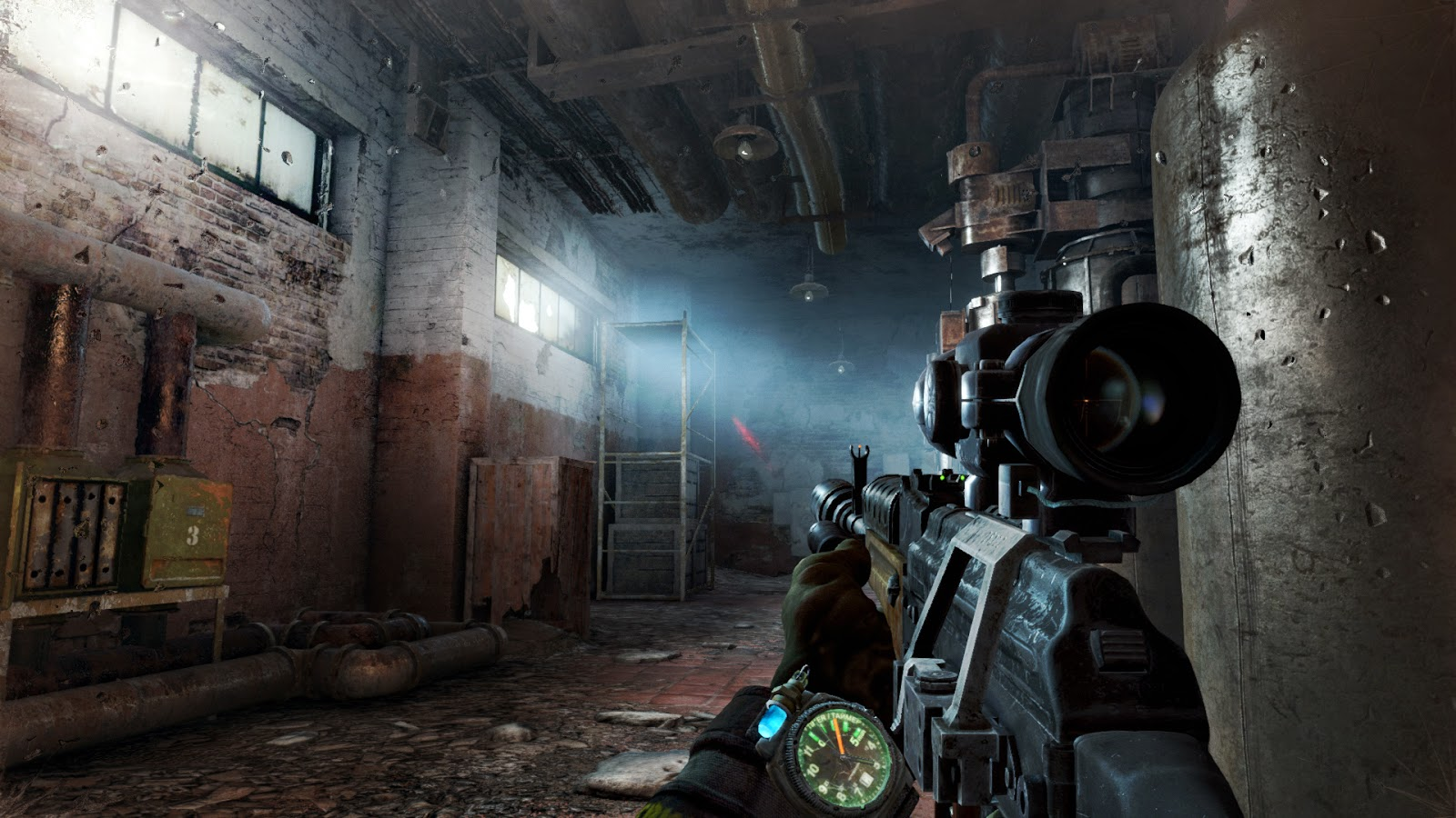 Metro: Last Light Redux gameplay