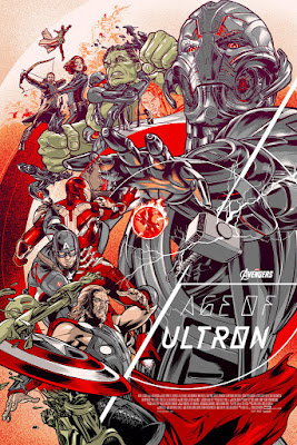 Marvel's Avengers: Age of Ultron Standard Edition Screen Print by Martin Ansin