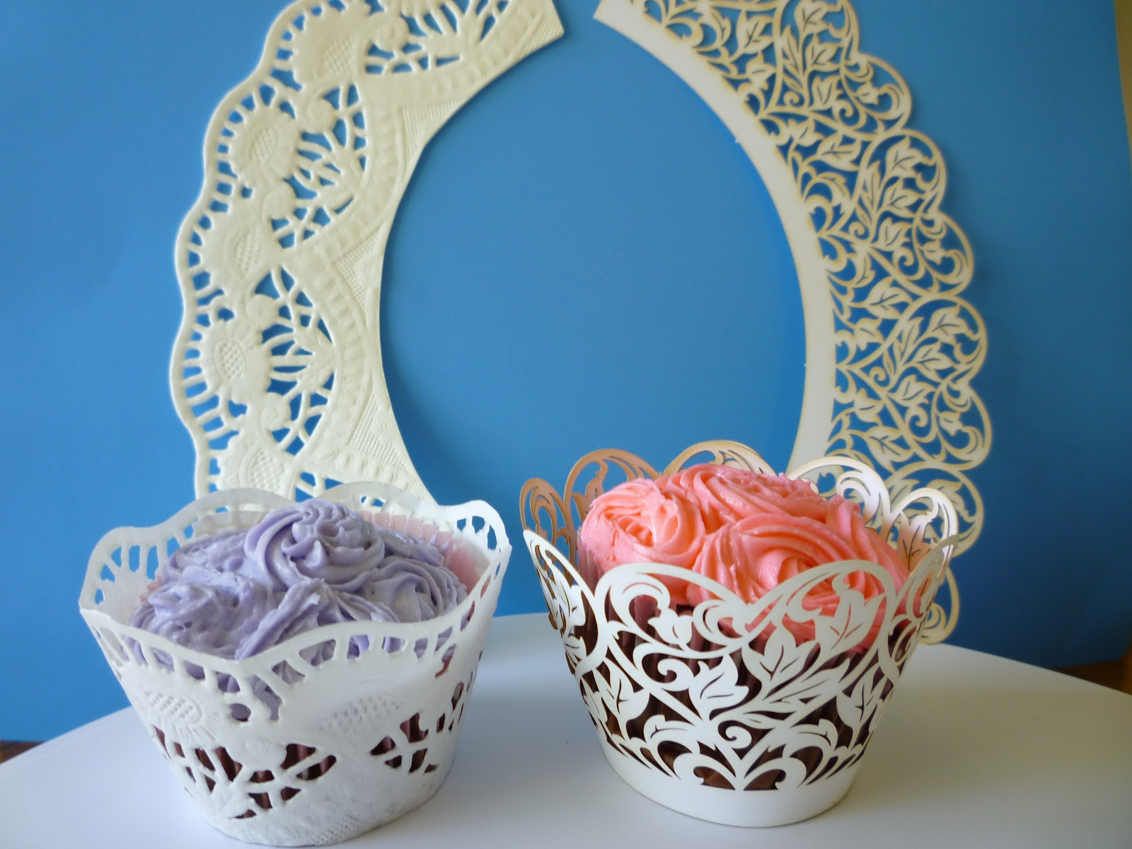 how to make cupcake wrappers