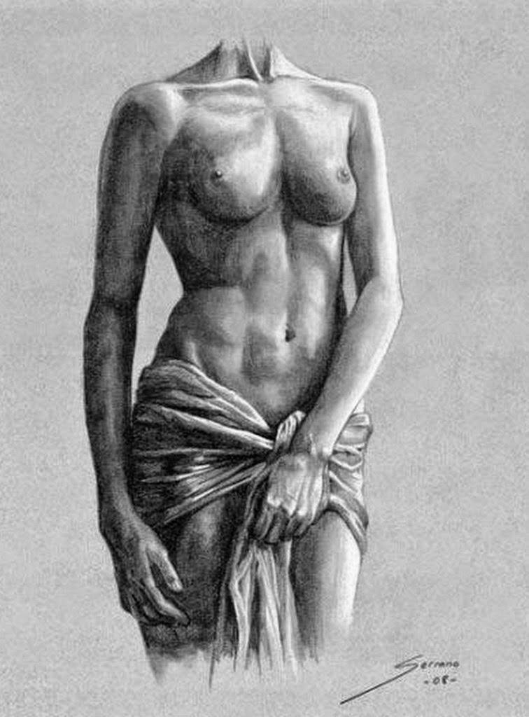 Contemporáneo Mujer Anatomía Arte Viñeta - Anatomía de Las ...