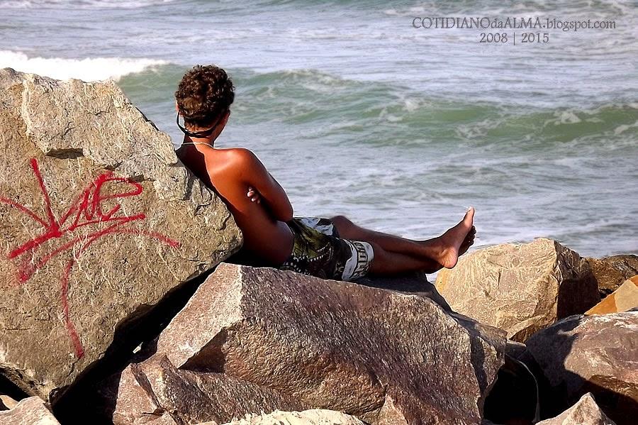 A Solidão. Ezequiel Rodrigues. Cotidiano da Alma. Praia da Redinha. Surfista.