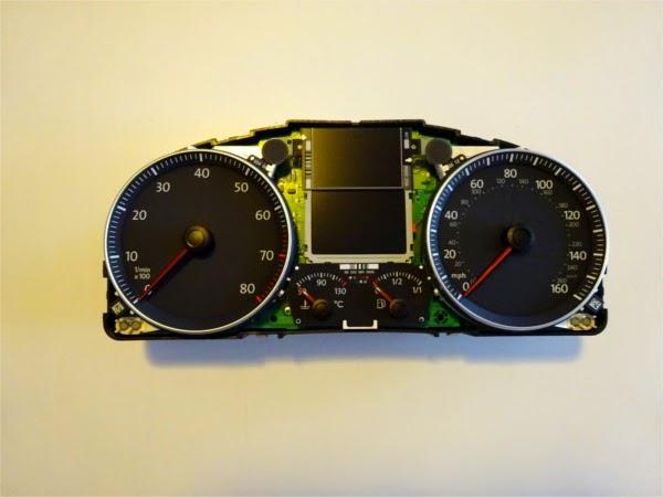 Velocímetro km/h a millas/h