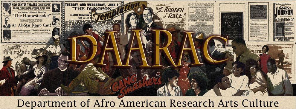 Department of Afro American Research Arts Culture