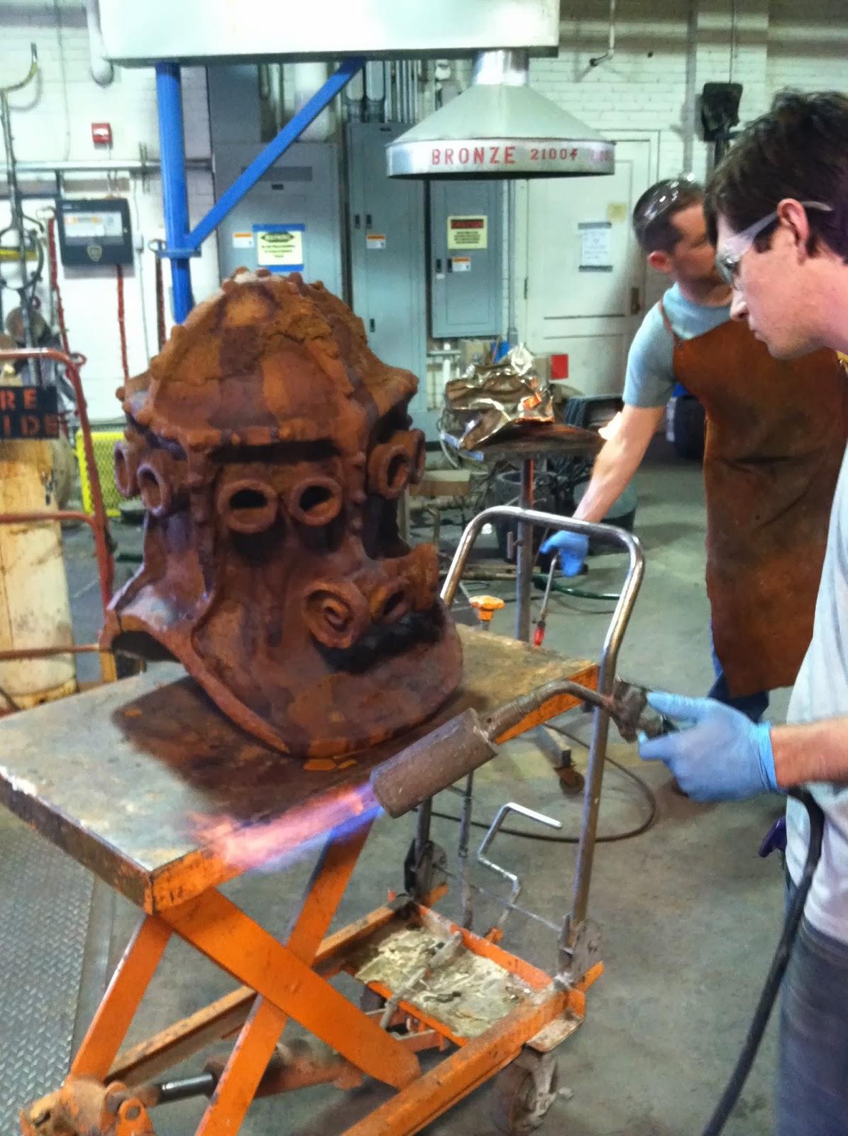 national casting center foundry patina clinic