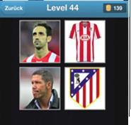 solution quiz de football niveau 44