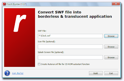 Flash Builder , convert  swf to exe , swf to exe