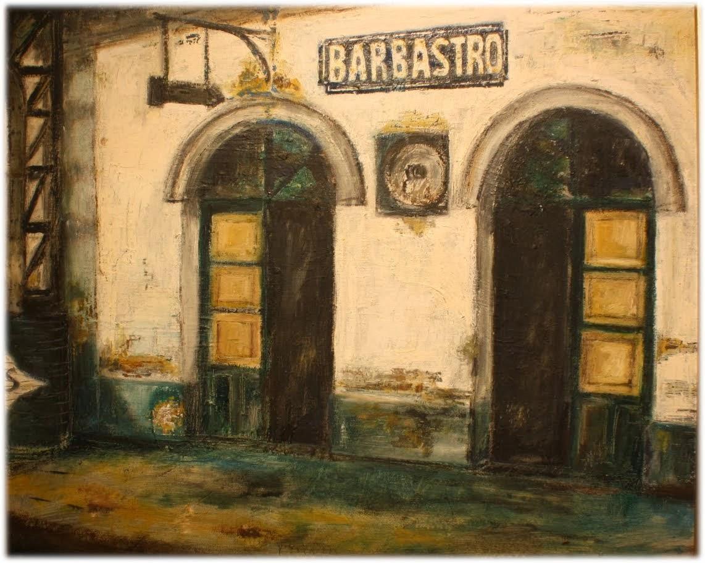 La antigua estación de Barbastro