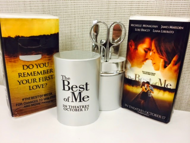 The Best of Me prize pack