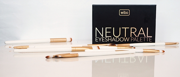 WIBO NEUTRAL EYESHADOW PALETTE - SWATCHE