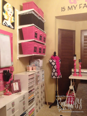 Prettify Your Life Show Me Your Craft Room Blog Hop