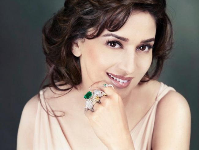Madhuri Dixit Beautiful Emeralds Jewelry Collection