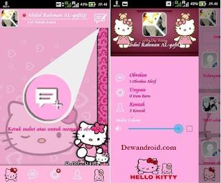 BBM Mod Tema Hello Kitty Versi 2.8.0.21 Paling Baru