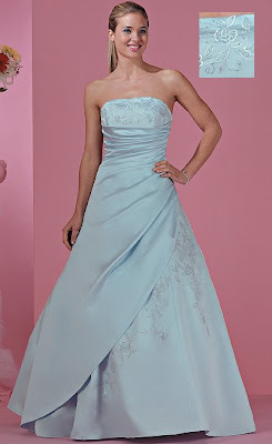 Barbie wedding dress designs pink white red black purple and blue