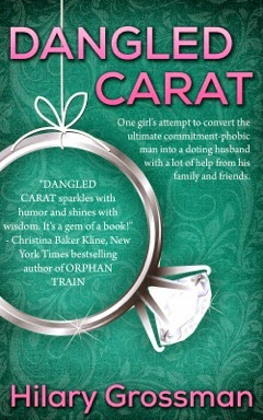 http://www.amazon.com/Dangled-Carat-Hilary-Grossman-ebook/dp/B00F55HITQ