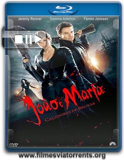 João e Maria: Caçadores de Bruxas Torrent - BluRay Rip 720p e 1080p Dual Áudio 5.1 (2013)