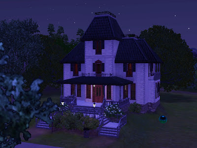 haunted mansion sims 3 ambitions