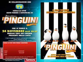 al cinema con sorrisi anteprima I Pinguini di Madagascar