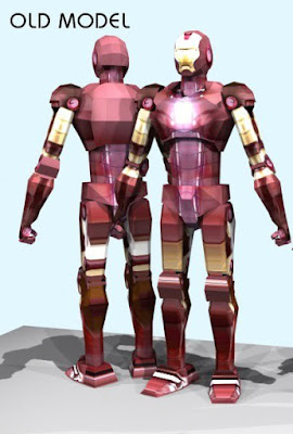 Ironman 1 Papercraft Model Free Download