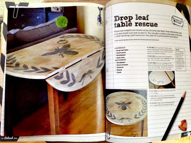 Reloved Magazine April Edition Homeroad Projects www.homeroad.net