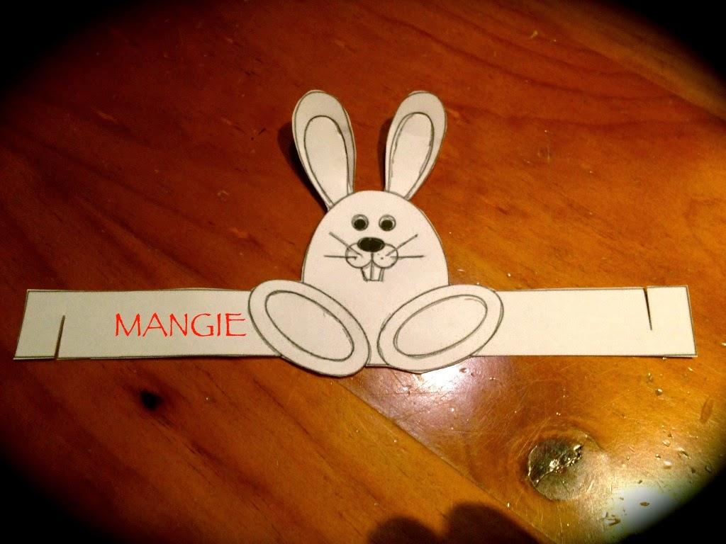 Plantilla conejo