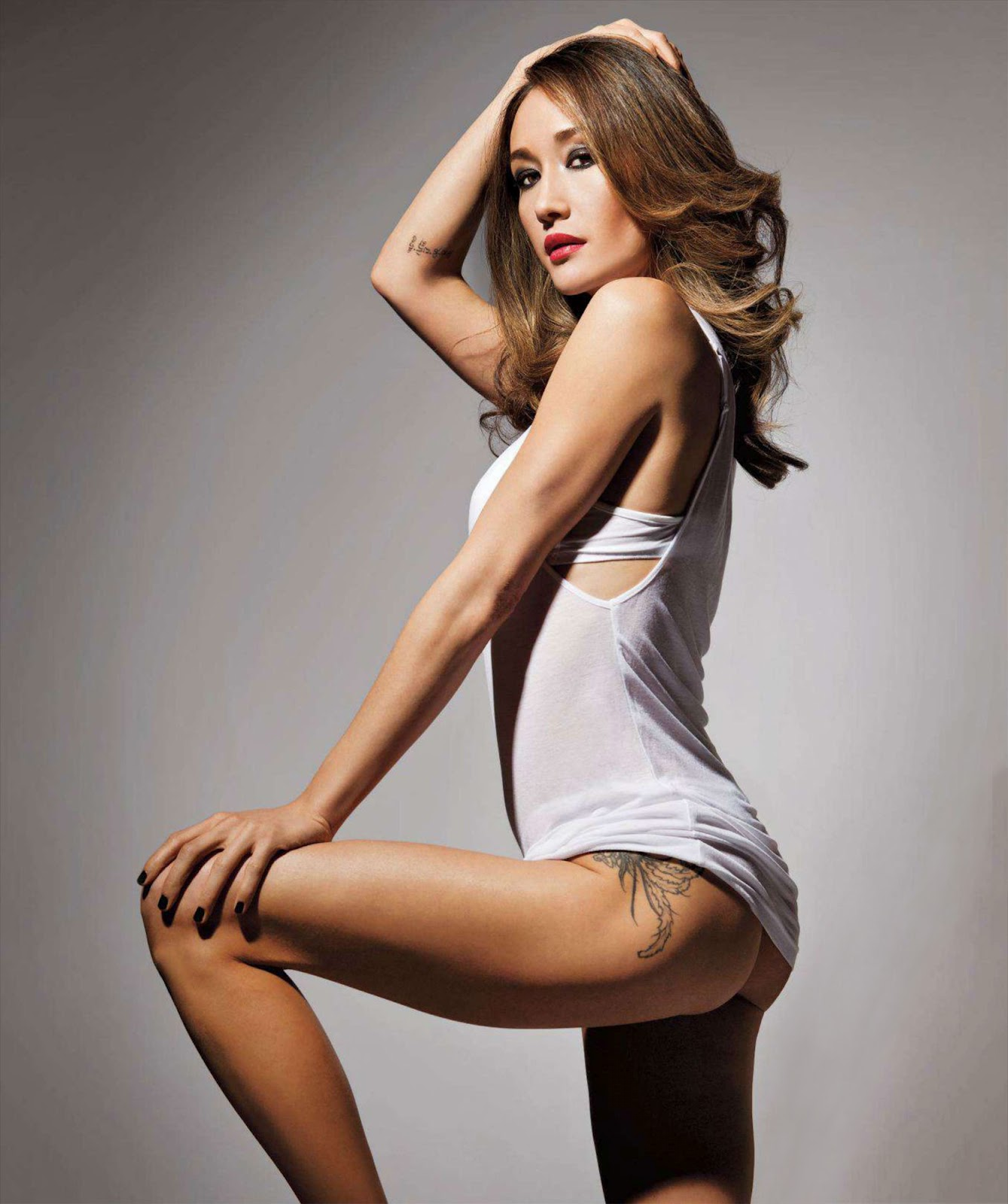 Maggie q xxx vagina and have