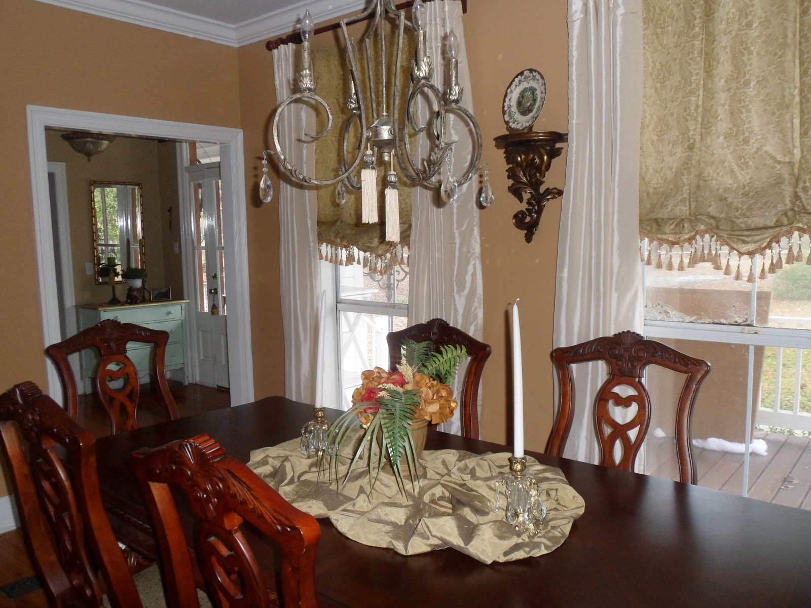 Just Love My Dining Room And Enjoy Having Family Meals Here